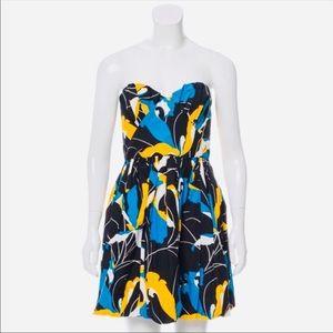 Miu Miu Sweetheart Strapless Dress